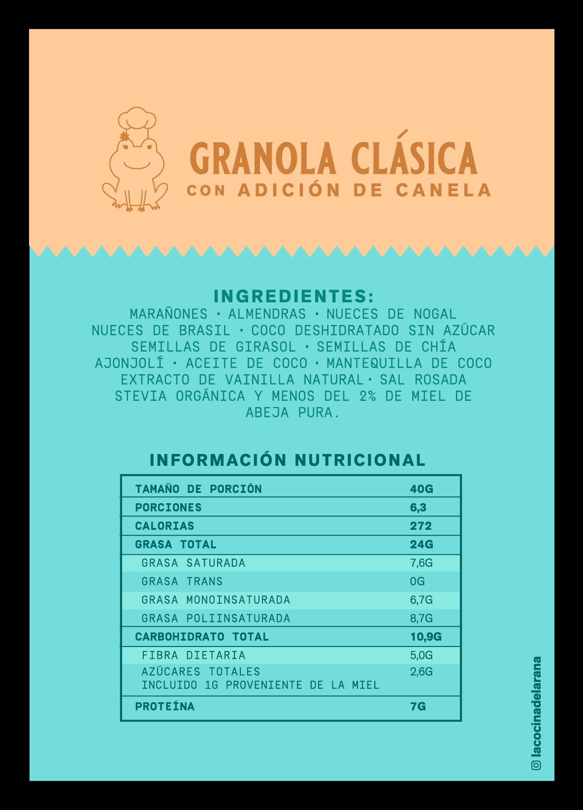Granola clásica