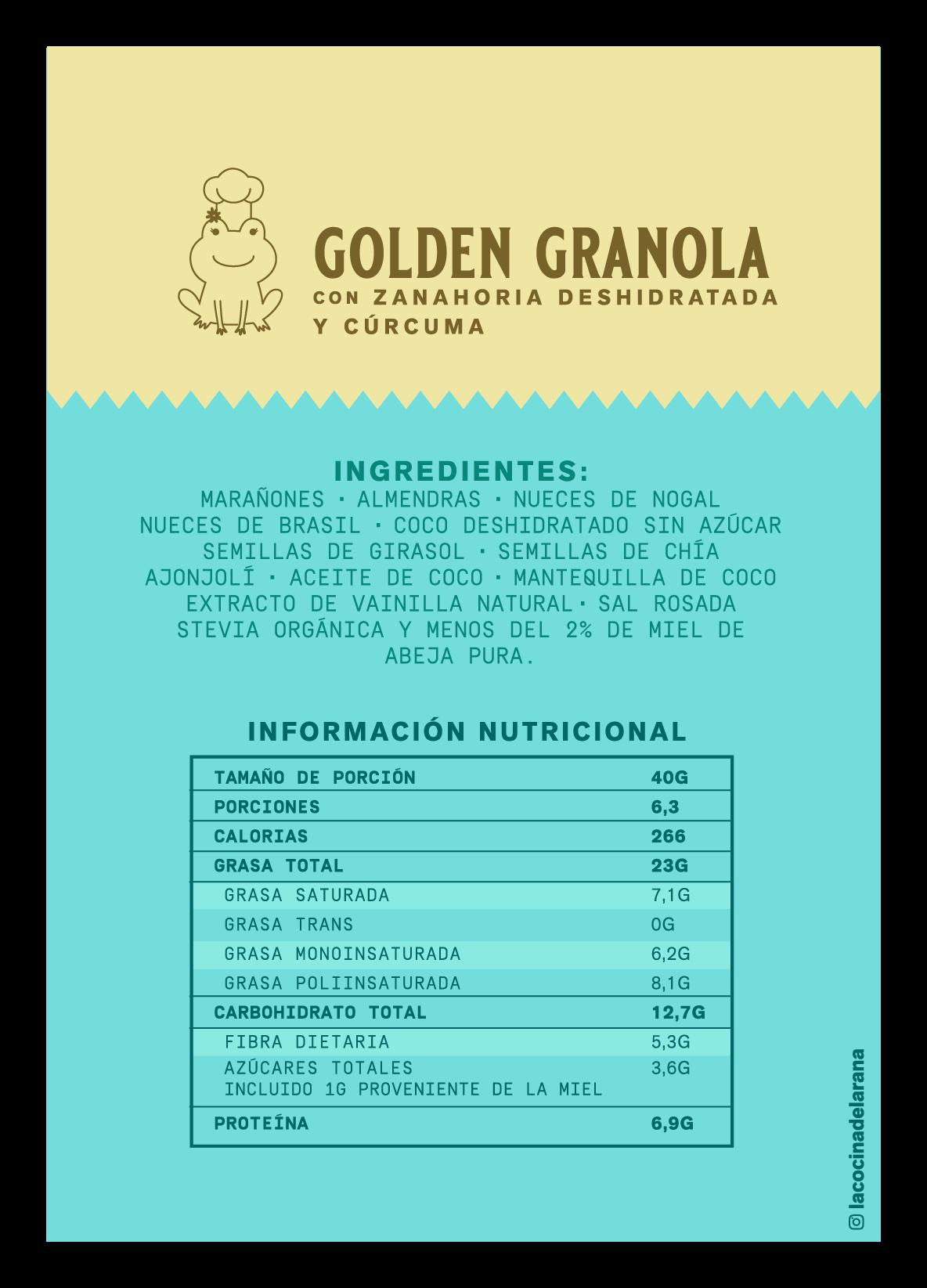 Golden granola